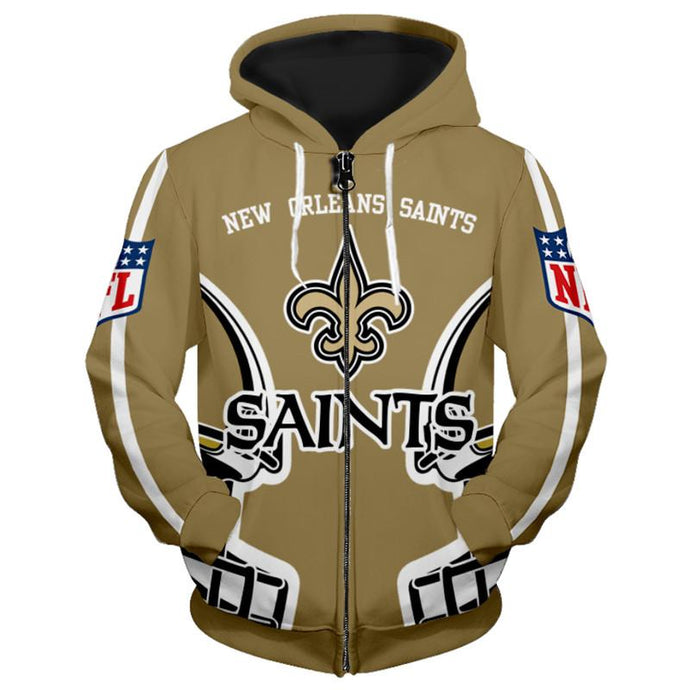 New Orleans Saints 3D Style Hoodie