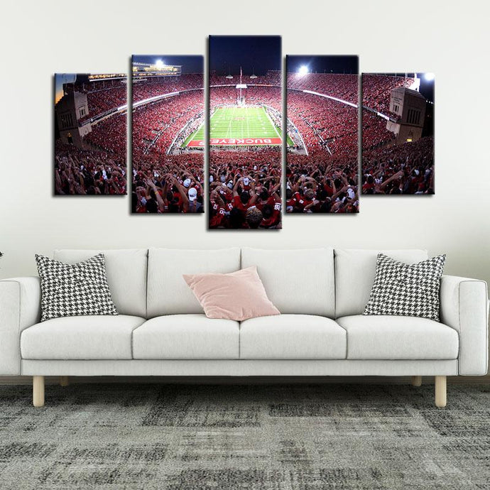 Ohio State Buckeyes Stadium Canvas 3