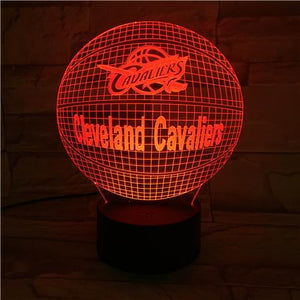 Cleveland Cavaliers 3D Illusion LED Lamp
