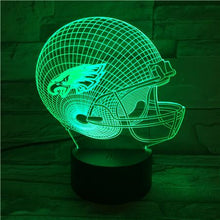Load image into Gallery viewer, Philadelphia Eagles 3D Illusion LED Lamp