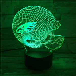 Philadelphia Eagles 3D Illusion LED Lamp