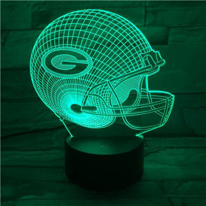 Green Bay Packers 3D Illusion LED Lamp