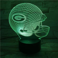 Load image into Gallery viewer, Green Bay Packers 3D Illusion LED Lamp