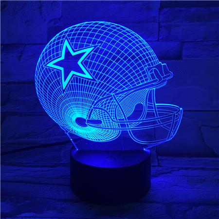 Dallas Cowboys 3D Illusion LED Lamp