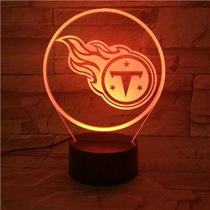 Tennessee Titans 3D Illusion LED Lamp