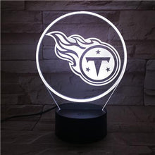 Load image into Gallery viewer, Tennessee Titans 3D Illusion LED Lamp