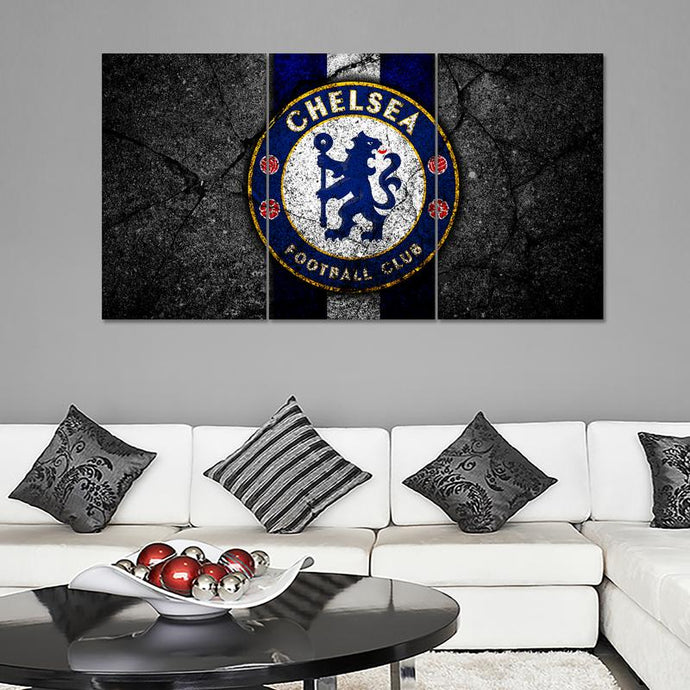 Chelsea F.C. Rock Style Wall Canvas 1