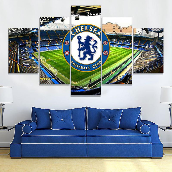 Chelsea F.C. Stadium Wall Art Canvas 2