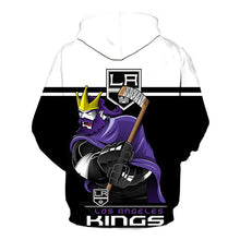 Load image into Gallery viewer, Los Angeles Kings 3D Hoodie