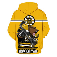 Load image into Gallery viewer, Boston Bruins 3D Hoodie