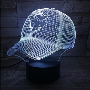Toronto Blue Jays 3D Illusion LED Lamp