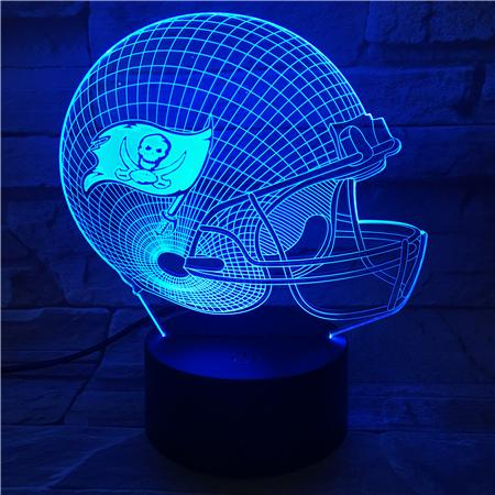 Tampa Bay Buccaneers 3D Illusion LED Lamp