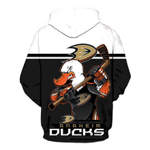 Load image into Gallery viewer, Anaheim Ducks 3D Hoodie