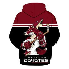 Load image into Gallery viewer, Arizona Coyotes 3D Hoodie