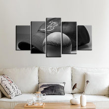 Load image into Gallery viewer, Boston Red Sox Cap Ball Canvas
