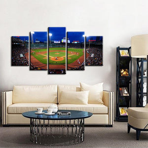 Boston Red Sox Stadium Canvas 1