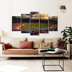 Boston Red Sox Stadium Canvas 2