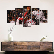 Load image into Gallery viewer, Boston Red Sox Victory Moments 5 Pieces Wall Painting Canvas