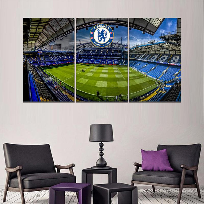Chelsea F.C. Stadium Wall Art Canvas 1