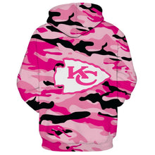 Load image into Gallery viewer, Kansas City Chiefs 3D Hoodie