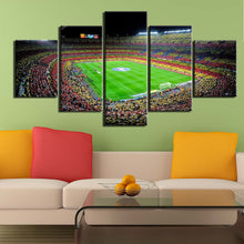 Load image into Gallery viewer, FC Barcelona Stadium Wall Canvas