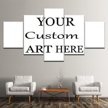 Load image into Gallery viewer, 5 Pieces Customized Paintings Canvas