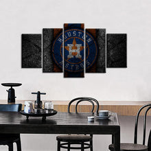 Load image into Gallery viewer, Houston Astros Rock Style 5 Pieces Wall Painting Canvas