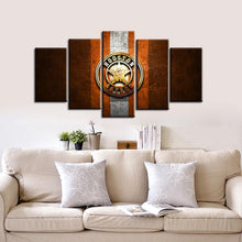 Load image into Gallery viewer, Houston Astros Steel Style 5 Pieces Wall Painting Canvas