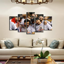 Load image into Gallery viewer, Houston Astros Champions Celebration 5 Pieces Wall Painting Canvas