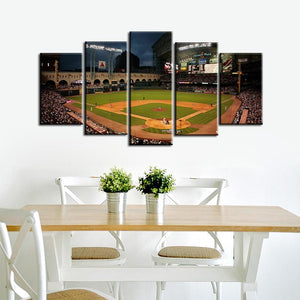 Houston Astros Stadium Canvas 2