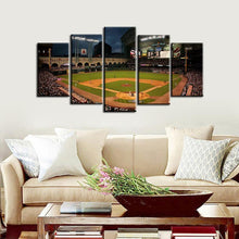Load image into Gallery viewer, Houston Astros Stadium 5 Pieces Wall Painting Canvas-2