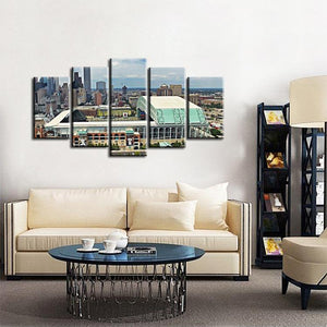 Houston Astros Stadium Canvas 3