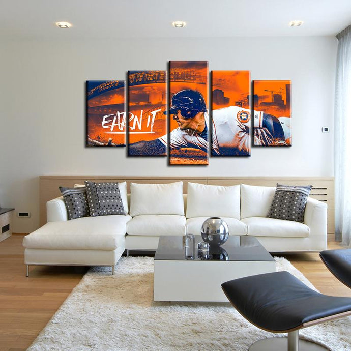 Houston Astros Earn It Canvas