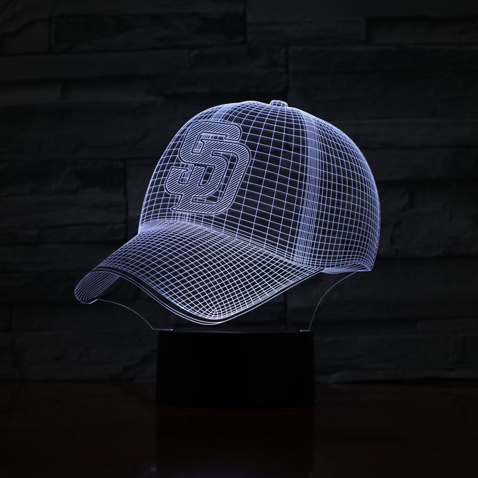 San Diego Padres 3D Illusion LED Lamp