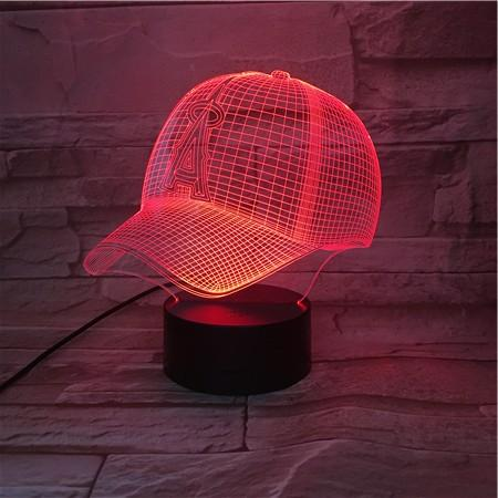 Los Angeles Angels 3D Illusion LED Lamp