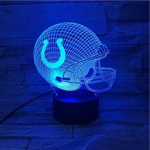 Indianapolis Colts 3D Illusion LED Lamp
