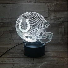 Load image into Gallery viewer, Indianapolis Colts 3D Illusion LED Lamp