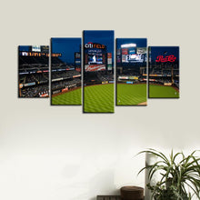 Load image into Gallery viewer, New York Mets Stadium 2 Canvas