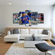 Load image into Gallery viewer, Noah Syndergaard New York Mets 5 Pieces Wall Painting Canvas