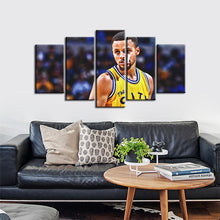 Load image into Gallery viewer, Stephen Curry Golden State Warriors 5 Pieces Wall Painting Canvas