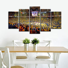 Load image into Gallery viewer, Golden State Warriors Stadium 5 Pieces Wall Painting Canvas