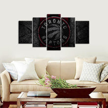 Load image into Gallery viewer, Toronto Raptors Rock Style 5 Pieces Painting Canvas
