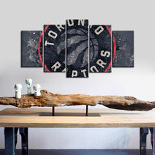 Load image into Gallery viewer, Toronto Raptors Techy Style 5 Pieces Painting Canvas