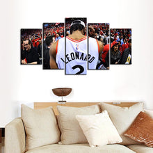 Load image into Gallery viewer, Toronto Raptors We Are North 5 Pieces Painting Canvas