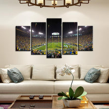 Load image into Gallery viewer, Green Bay Packers Stadium 5 Pieces Painting Canvas