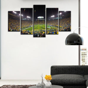 Green Bay Packers Stadium Canvas 2