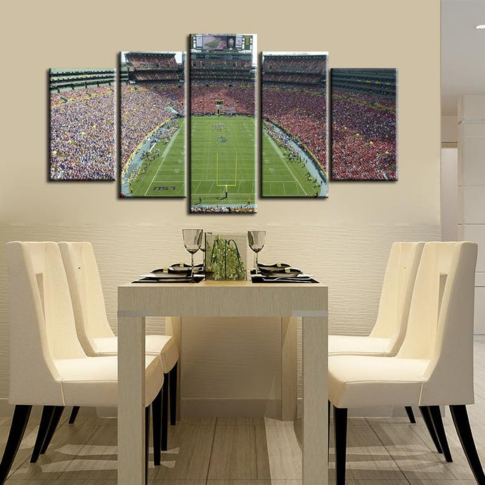 Green Bay Packers Stadium Canvas 3