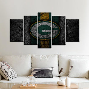 Green Bay Packers Rock Style Canvas