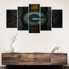 Load image into Gallery viewer, Green Bay Packers Rock Style 5 Pieces Painting Canvas