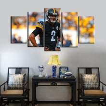 Load image into Gallery viewer, Mason Rudolph Pittsburgh Steelers Canvas